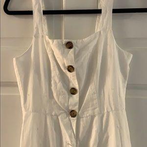 GAP white apron dress size 00 - NWT